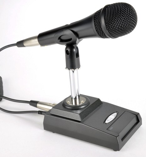 DMS-629 Desk Microphone - ICOM cable - see details