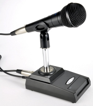 DMS-650 Desk Microphone - FLEXRADIO 6400/6600 only TRS+RCA cable